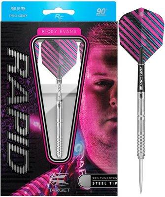Target Ricky Evans 90% steeltip dartpijlen