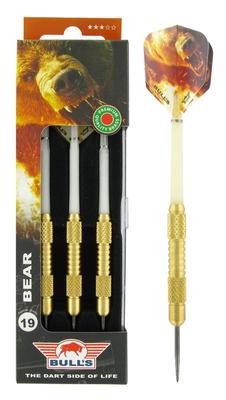 Bull's Brass Bear dartpijlen
