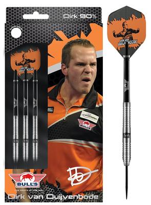 Bull's Dirk van Duijvenbode 90% steeltip dartpijlen