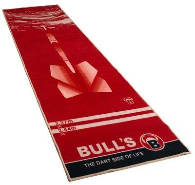 Bull's Carpet 180 dartmat rood