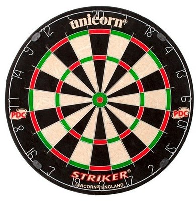 Unicorn Striker sisal dartbord