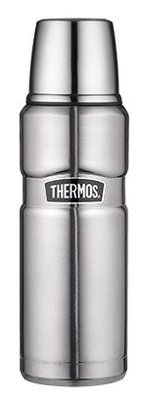 Thermos King Zilver thermosfles 0.47 liter