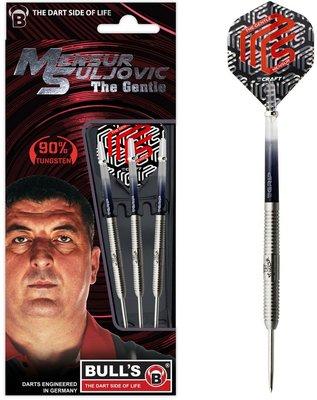 Bull's Mensur Suljovic 90% tungsten steeltip dartpijlen