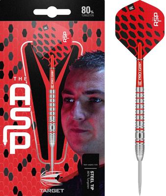 Target Nathan Aspinall 80% steeltip dartpijlen
