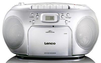 Lenco SCD-410 zilver draagbare radio