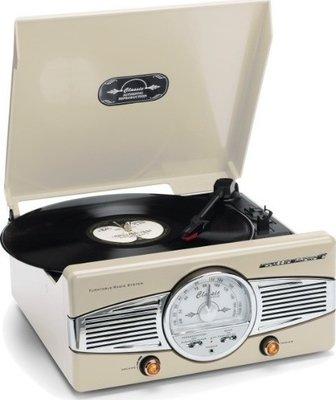 Classic Phono TT-28 cream platenspeler