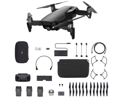 DJI Mavic Air Fly More Combo zwart quadcopter