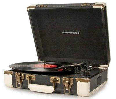Crosley Cruiser Executive zwart platenspeler