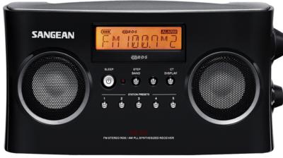 Sangean PR-D5P zwart radio