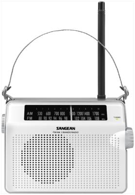 Sangean PR-D6 wit radio