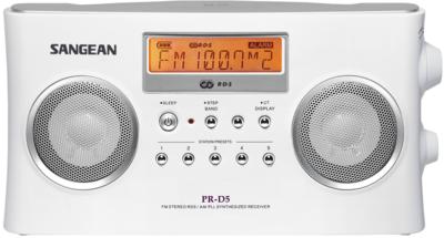 Sangean PR-D5 wit radio