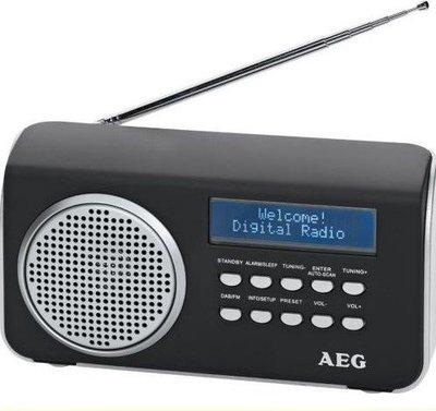 AEG 4130 DAB+ radio zwart
