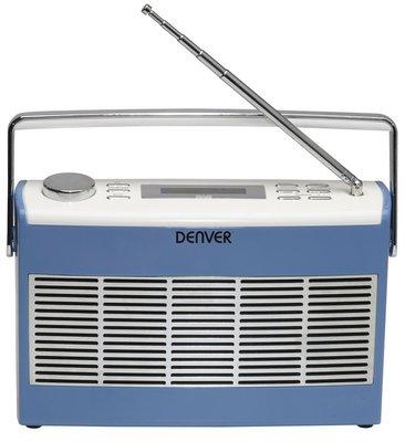 Denver DAB-37 blauw DAB+ radio