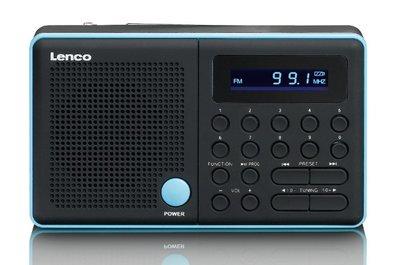 Lenco MPR-034 blauw draagbare radio