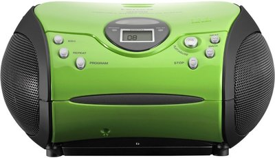 Lenco SCD-24 groen draagbare radio