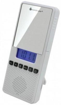 Soundmaster BR80 badkamerradio met klok en spiegel