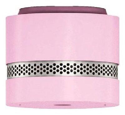 Safewith.me Nano roze rookmelder met lithiumbatterij