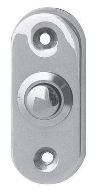 Studio Mariani Ovaal chroom deurdrukker