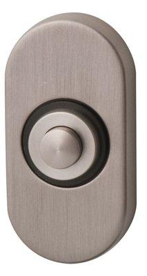 Studio PBA Inox Ovaal deurdrukker