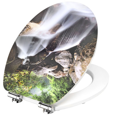 Cornat Waterfall decor toiletbril