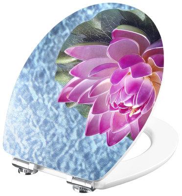 Cornat 3D Lotus decor toiletbril
