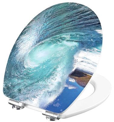 Cornat 3D Wave decor toiletbril