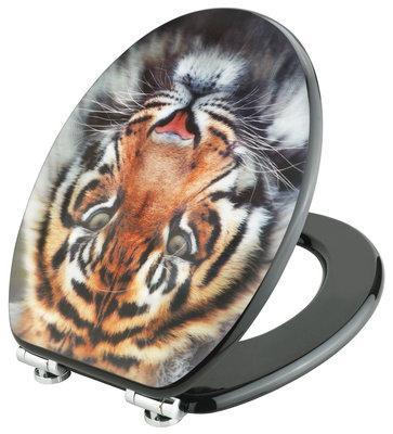 Cornat Tiger 3D decor toiletbril