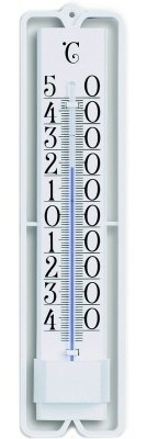 TFA Trend White analoge thermometer