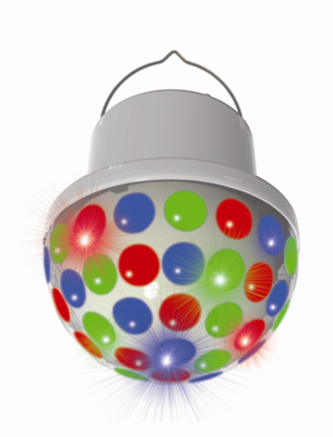 PartyFunLights LED-discolamp