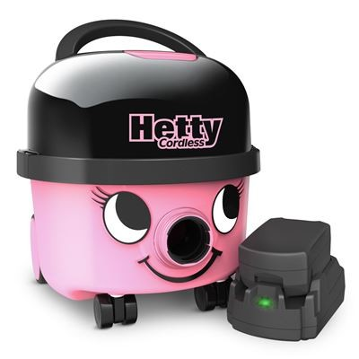Numatic Hetty Cordless 250 Watt HEB-160 stofzuiger met zak