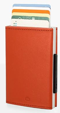 Ögon Cascade Orange creditcardhouder