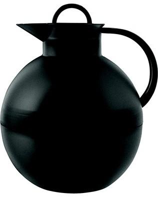 Alfi Kugel metalen thermoskan mat zwart 0.94 liter