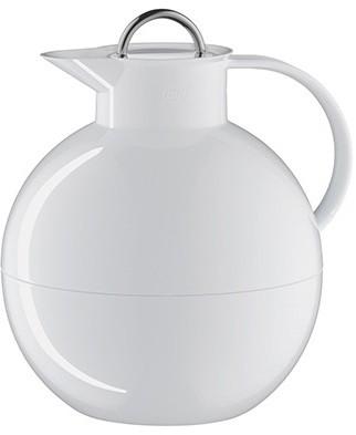 Alfi Kugel metalen thermoskan wit 0.94 liter