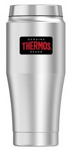 Thermos Heritage zilver thermosbeker 0.47 liter