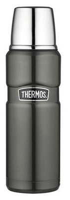Thermos King Spacegrijs thermosfles 0.47 liter