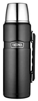 Thermos King Spacegrijs thermosfles 1.2 liter