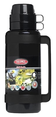 Thermos Mondial zwart thermosfles 1.8 liter