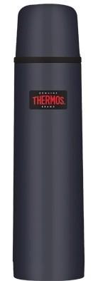 Thermos Inox blauw thermosfles 0.75 liter