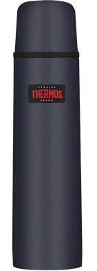 Thermos Inox blauw thermosfles 1 liter