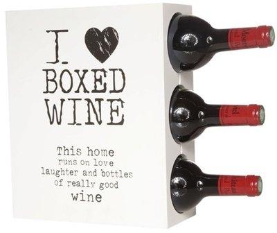 Cosy Boxed Wine wijnrek - 3 flessen