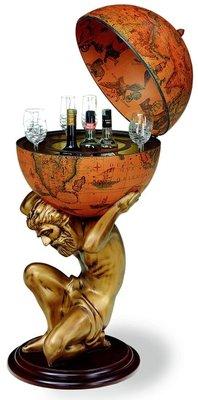 Classica Atlas barglobe