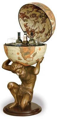 Classica Atlas Safari barglobe