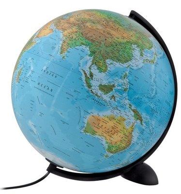 Atmosphere Ellipse wereldbol met verlichting