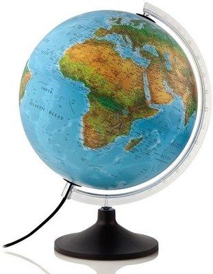 Atmosphere Solid wereldbol met verlichting