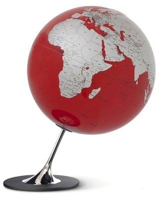 Atmosphere Anglo rood wereldbol