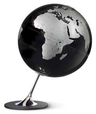 Atmosphere Anglo zwart wereldbol