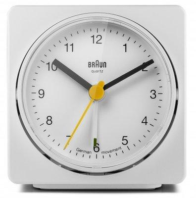 Braun BNC011 wit 7 cm wekker