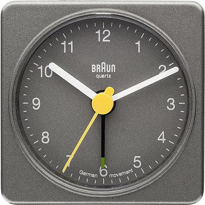 Braun BNC002 grijs 6 cm wekker