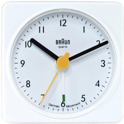 Braun BNC002 wit 6 cm wekker