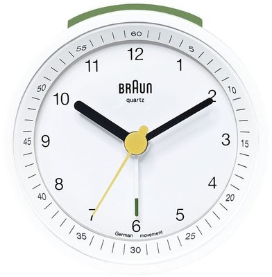 Braun BNC007 wit 8 cm wekker